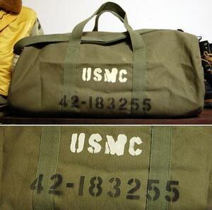 大容量 ミリタリー ボストンバッグ ROTHCO ロスコ 社製 USMC ショルダーバッグ 新品/オリーブ