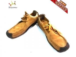 クラークス Clarks シューズ UK 5 D スエード ブラウン レディース 靴