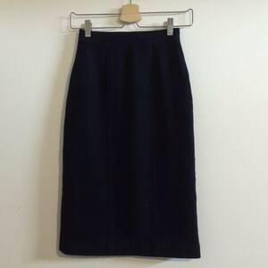シャネル/CHANEL 裏地シルク使いタイトスカート34