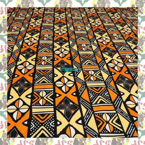 【SALE】アフリカンプリント生地 布 180cmx110cm(2ヤード) アフリカ布 アフリカ生地 アフリカ バティック ハンドメイド素材 barg-a188