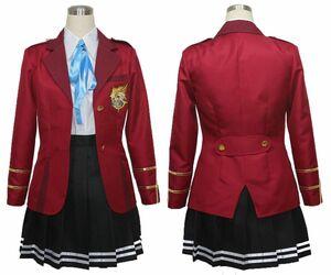 cos2226FORTUNE ARTERIAL 修智館学院女子制服 コスプレ衣装