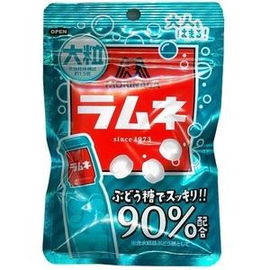 森永製菓 大粒ラムネ ぶどう糖90%配合 41g 1袋 新品