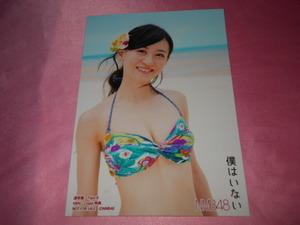 NMB48上西恵,写真,僕はいない 水着 HMV Loppi特典