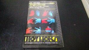 美品 VHS Greg Irwin グレッグ・アーウィン Finger Fitness The Art of Finger Control With Greg Irwin 総尺30分