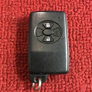 トヨタ 純正 スマートキー キーレス 2ボタン 271451-0091 作動未チェック GG384