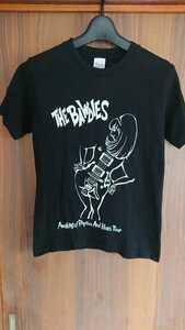 THE BAWDIES ボウディーズ 2008ツアーTシャツ ブラック AWAKING OF RHYTHM AND BLUES TOUR 2008 グッズ レア 送料無料