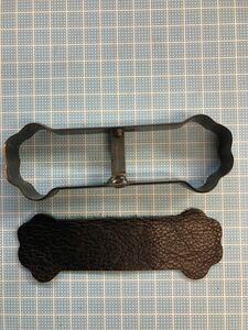 イヌの手 コードクリップの抜き型 オーダーメイド レザークラフト