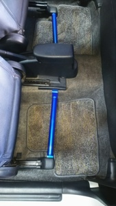 * Suzuki HA22S*HA12S Alto Works ( new standard body ) exclusive use f lower support ( seat rail ) reinforcement bar left right set new goods *