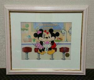 Disney ディズニー ミッキーマウス ミニー セル画 原画 限定 レア 入手困難