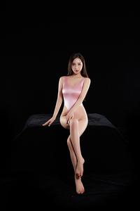 ☆超Sexy!!☆ セクシーコスプレ衣装 レースクイーン風ハイレグレオタード フリーサイズ ピンク