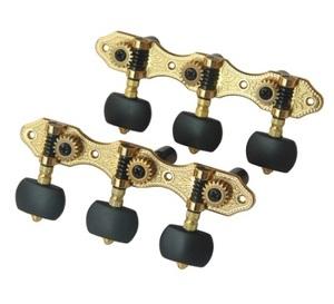 クラシックギター3連 チューナー マシンヘッド チューニング ペグ アコギ アコースティックギター Classic Guitar Tuners