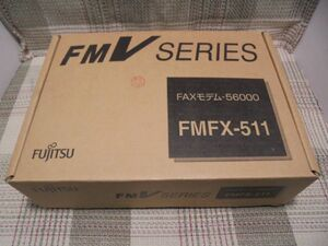 FUJITSU FAXモデム-56000 FM-FX-511(箱入り保管品/通電のみ確認)