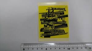⑪【送料84円】ONEBITE ONEFISHE ワンバイトワンフィッシュ 【新品未使用】ステッカー・シール