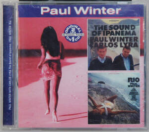 CD ● PAUL WINTER / 2in1 THE SOUND OF IPANEMA + RIO ●COL-CD-6672 ポール・ウィンター 輸入盤 Y315