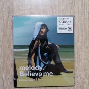 ★送料無料★新品CD melody Believe me ENGLISH VERSION
