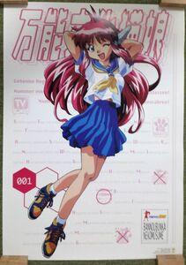 【非売品】★送料無料★ポスター 万能文化猫娘