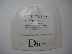 Dior ディオールスキン フォーエヴァー&エヴァー ベース 001 サンプル Christian Dior