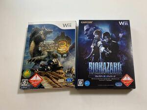 Wiiソフト バイオハザード ダークサイド・クロニクルズ コレクターズパッケージ