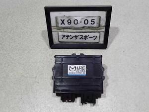 平成22年 アテンザスポーツ ワゴン GHEFW 後期 純正 ATミッション コンピューター オートマ LF LFDT189E1C 中古 即決