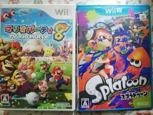 【Wii】 マリオパーティ8 wiiuスプラトゥーン