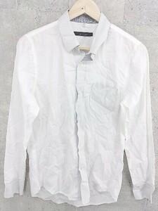 ◇ Johnbull ジョンブル 長袖 シャツ サイズS ホワイト メンズ 1002800846382