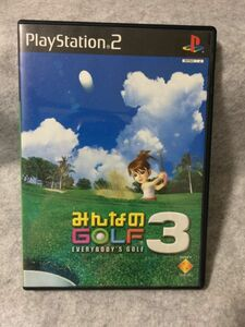 PS2ソフト みんなのGOLF3