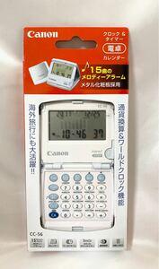 Canon 電卓 CC-56 クロック&タイマー機能 カレンダー付