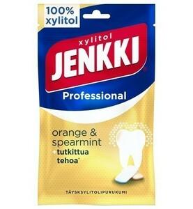 Cloetta Jenkki クロエッタ イェンキ プロ オレンジ&スペアミント味 キシリトール ガム 1袋×90g フィンランドのお菓子です