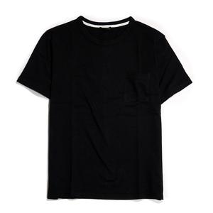 【新品】 無地 ヘビーウェイト Tシャツ 半袖 ■ XLサイズ / ブラック黒③ ■クルーネック 丸首 ソリッド T 無地T i06-7200