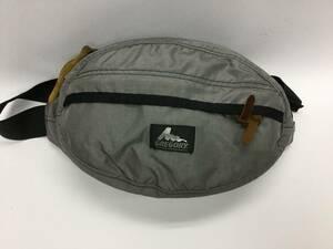 USA製 グレゴリー テールメイトS グレー 灰色 ボディバッグ