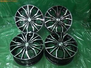 WEDS Weds Leonis 17 -inch aluminium wheel (4ps.@)[ used ]