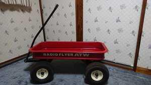 RADIO FLYER ATW ラジオフライヤー RADIO 大型 キャリートラック WAGON カスタム キャンプ フィッシング ジェットスキー 中古品 ジャンク