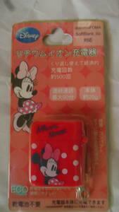 FOMA 3G ガラケー フィーチャーフォン リチウムイオン式充電池 ミニーマウス柄 定形外120円発送可能 即決 前の携帯端末維持されている方