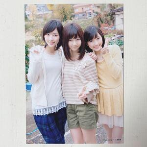 AKB48◆松井珠理奈 島崎遥香 渡辺麻友◆So long!◆共通店舗特典生写真◆即決