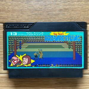 ファミコンソフト タッグチームプロレスリング(1986)