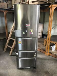 中古三洋電機 SANYO SR-HS37G 365L 5ドアノンフロン冷凍冷蔵庫◆クールカーテンジェット機能搭載 ノクリーニング