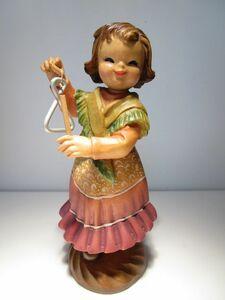2250体限定製作品 イタリア ANRI 木彫りアンリ人形 Juan Ferrandiz 'Tiny Sounds' 15cmH