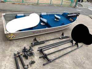 Sea Nymph/シーニンフ アルミボート 12フィート アルミジョンボート/12ft 船のみ
