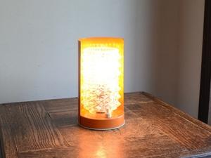 アンティーク照明 ヴィンテージデザイン スタンドデスクライト カッティングガラス テーブルランプ(H17cm)