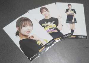 乃木坂46 和田まあや アンダーライブ2019 ライブTシャツ 会場限定 生写真 3種 コンプ
