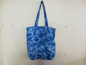 <水風> 着物 リメイク トートバッグ エコバッグ バッグ 買い物バッグ 手提げバッグ 手作り ハンドメイド