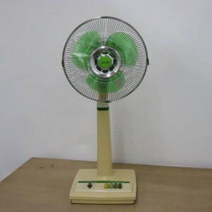 あ=I0061ax  昭和レトロ  MITSUBISHI  三菱 扇風機  R30-HTG  30cm  昭和ポップ 動作品