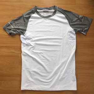 メンズ シャツ 半袖 スポーツウェア Tシャツ ホワイト Lサイズ 新品