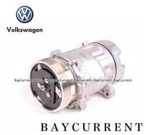 【正規純正OEM】 Volkswagen エアコン コンプレッサー VW パサート ポロ ジェッタ AC コンプレッサー 1H0820803D 1H0-820-803D ワーゲン