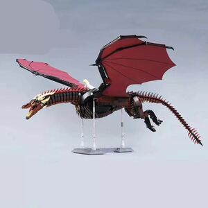 LEGO互換 ドラゴン赤 総額9000円