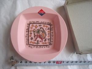 新品未使用品 非売品 昭和レトロ Noritake ノリタケ 灰皿 MELAMINE WARE メラミンウエア プラスチック製 ピンク色