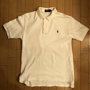 ラルフローレン 半袖ポロシャツ アイボリー Lサイズ