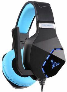 ステレオゲームヘッドセット ステレオヘッドセット マイク付き 3.5mmプラグベース PS4用