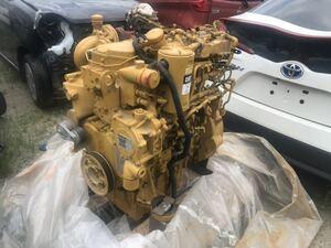 キャタピラー CAT C4.4 エンジン本体 実働 福岡県小郡市から