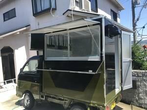 キッチンカーボックス制作!!テイクアウト、副業、移動販売、ペット移動サロン、キャンピング、災害派遣車、軽トラ